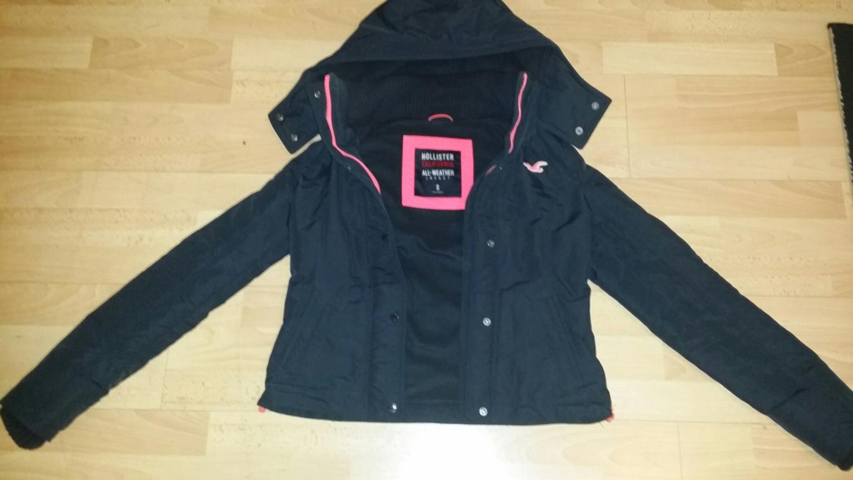 HOLLISTER All Weather Jacket d.blaupinkGr.S