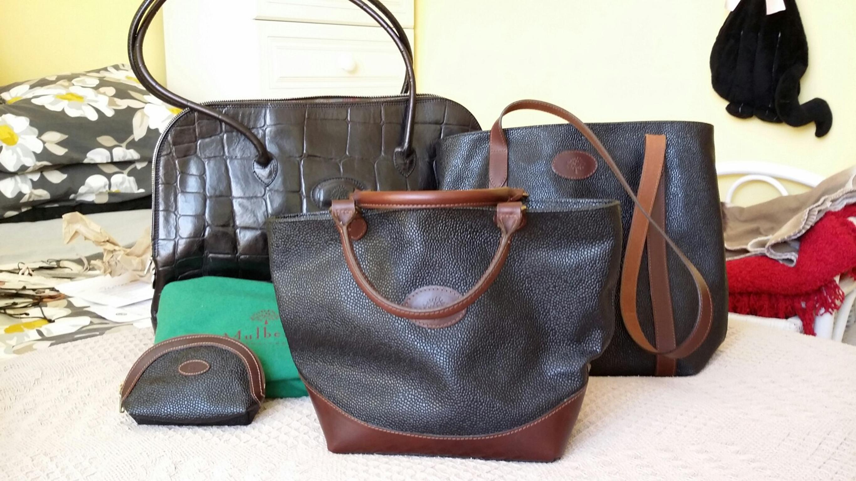 c59e99eeb77 3 GENUINE VINTAGE MULBERRY BAGS in CV31 Royal Leamington Spa for £300 -  Shpock