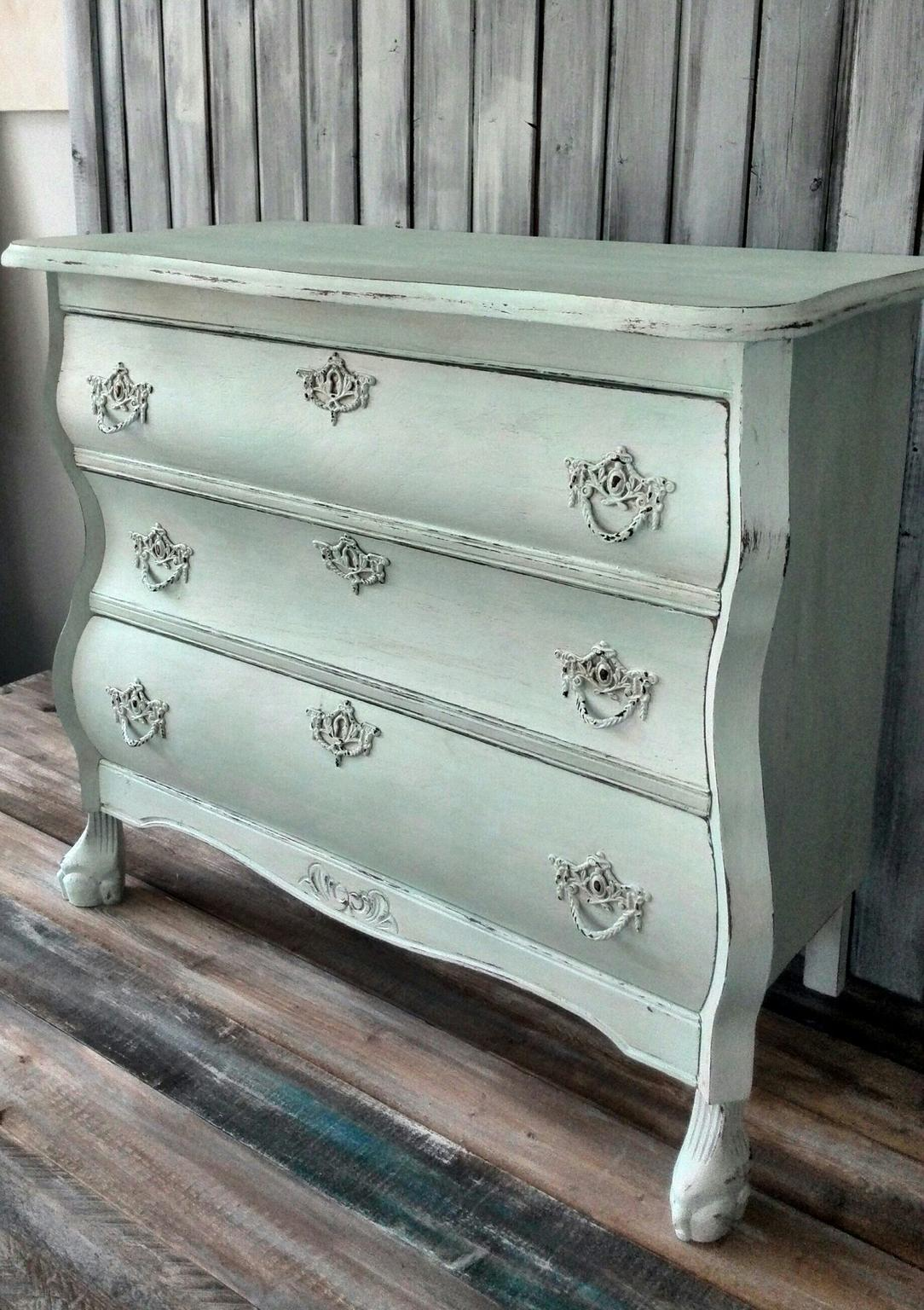 Shabby Chic Kommode Mint Weiss In 46397 Bocholt Fur 139 Shpock