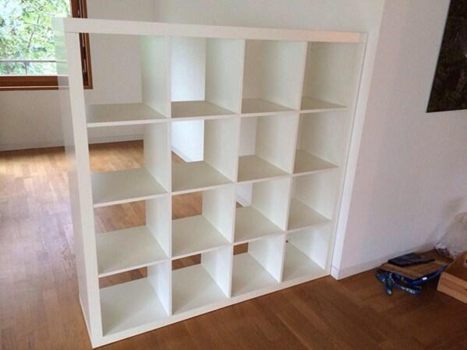 ikea expedit kallax regal  weiss   hannover