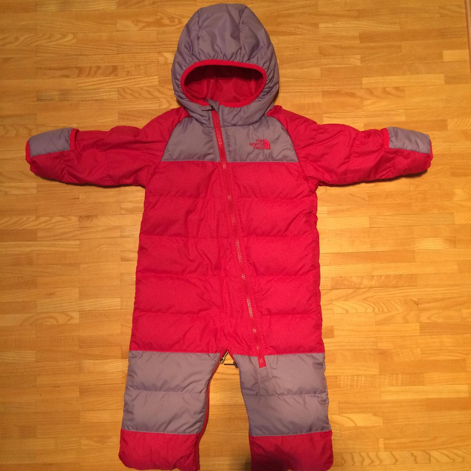 sports shoes ce672 4a1c0 The North Face Baby Overall Schneeanzug