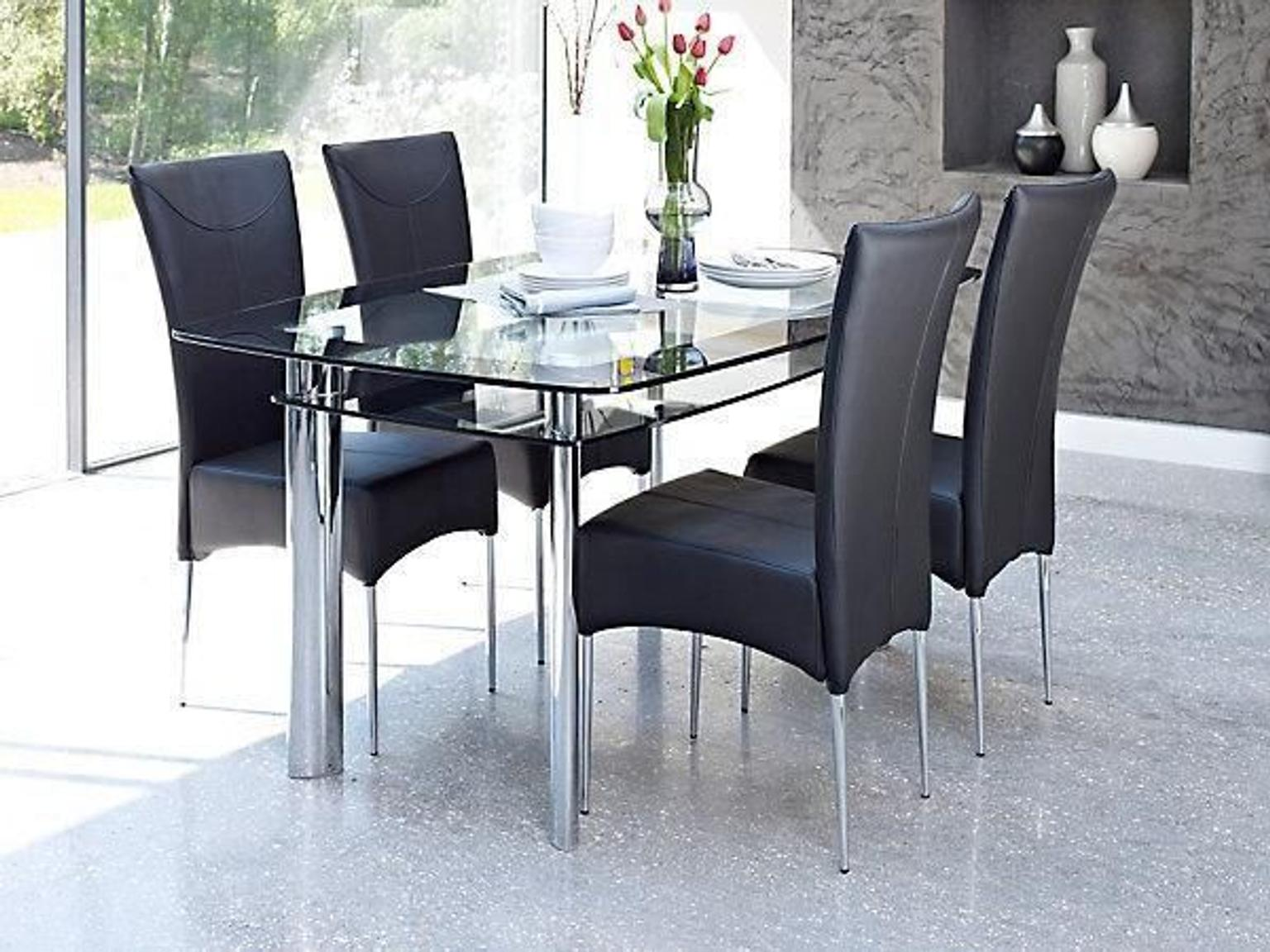 another chance 4e515 61240 Harveys Boat Dining Table & 6 Marilyn Chairs
