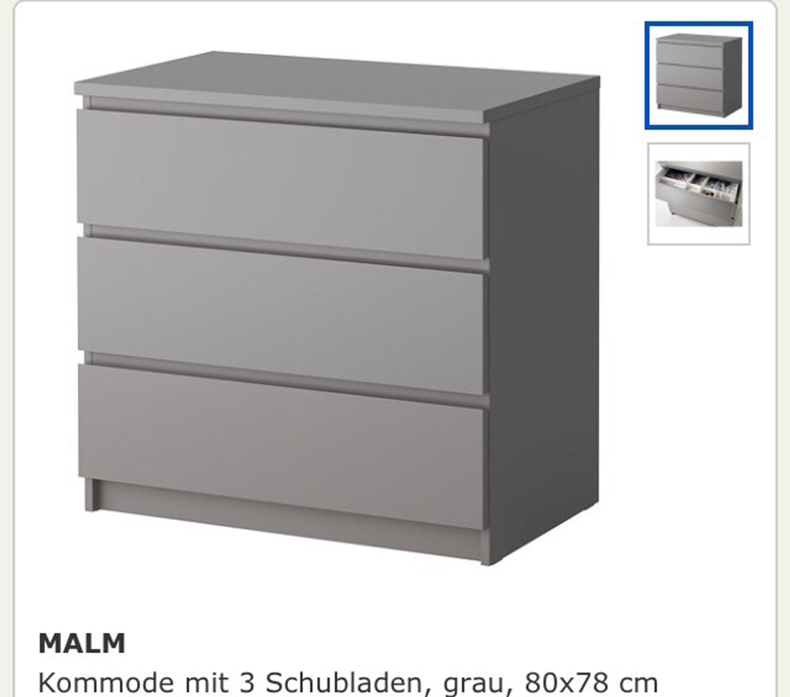 Ikea Malm Kommode Grau In 45128 Essen For 45 Shpock