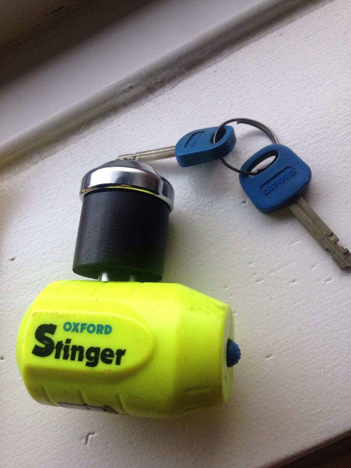 New Oxford Stinger Disc Lock