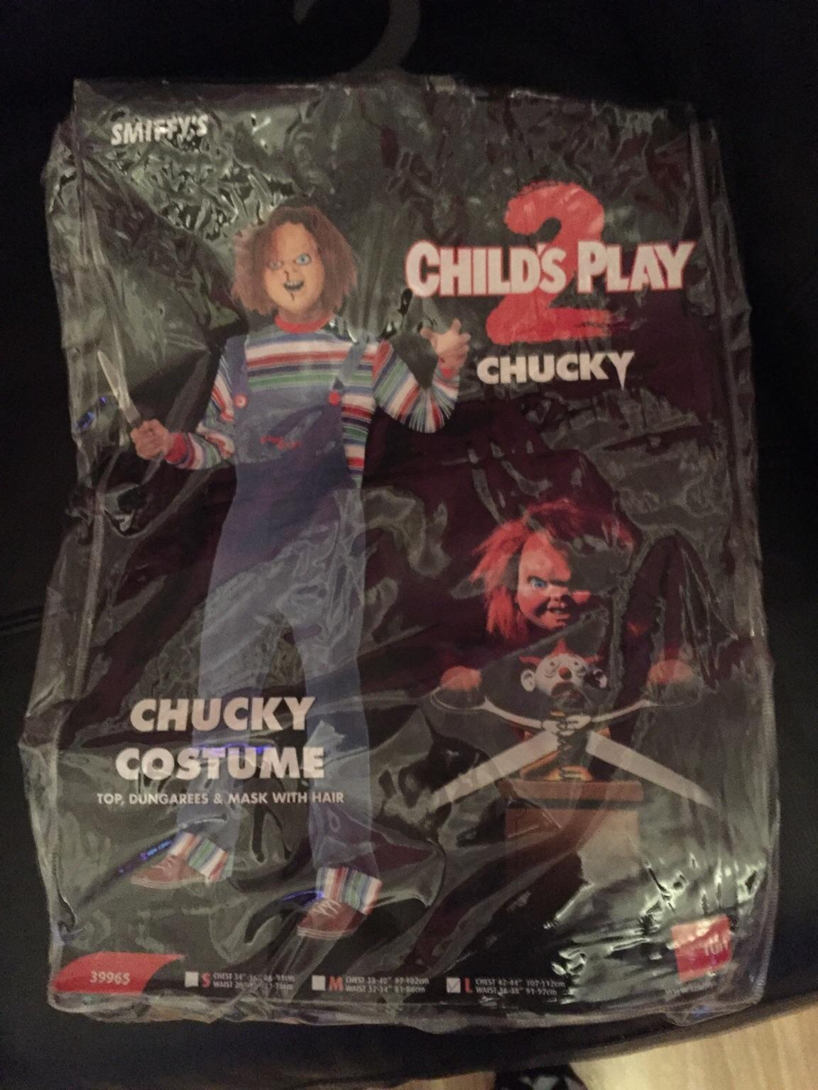 Large Chucky Halloween Outfit In Ll30 Llandudno For 25 00 For Sale Shpock
