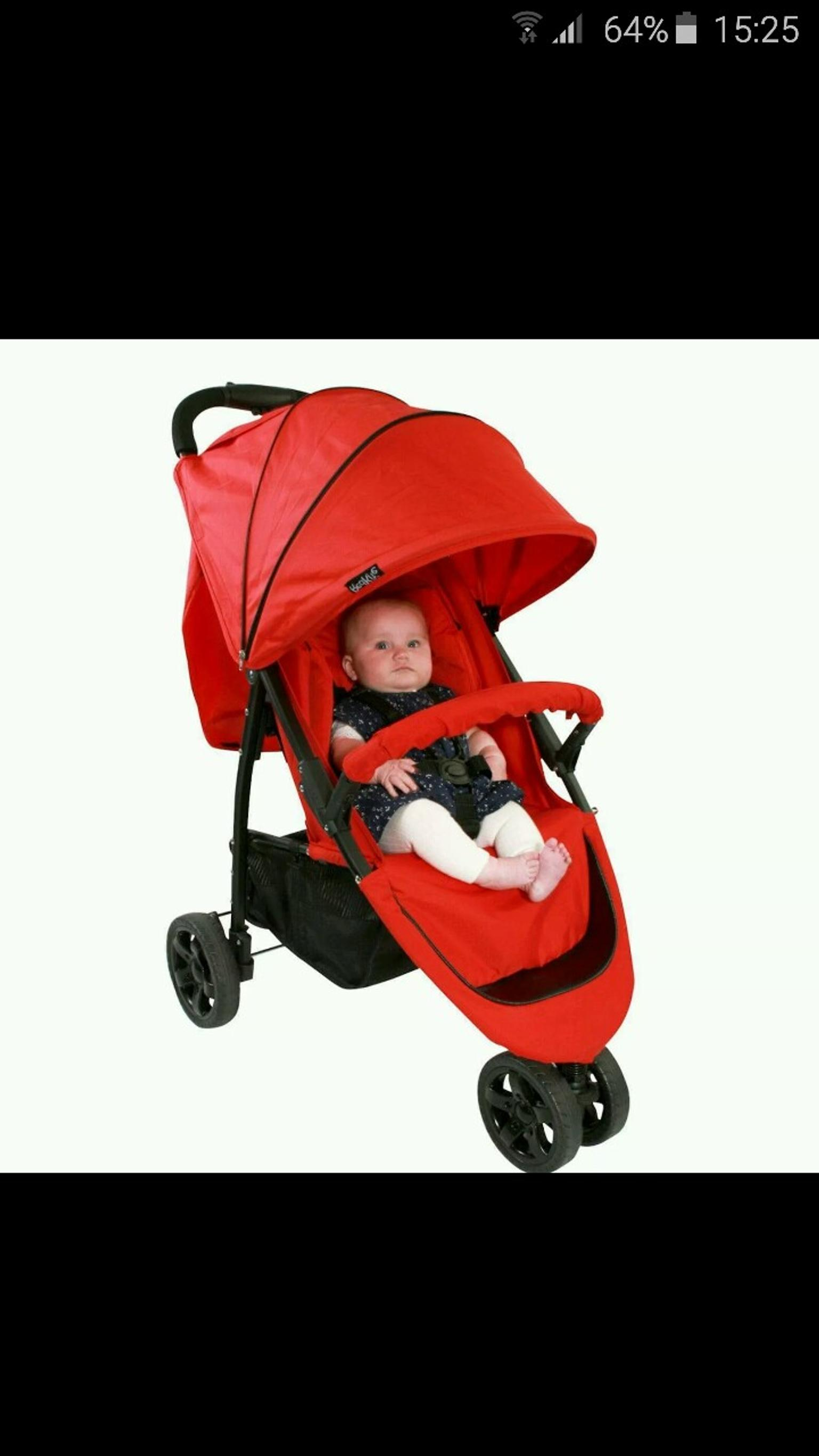 Baby Parasol compatible with Red Kite Push me urban jogger Red