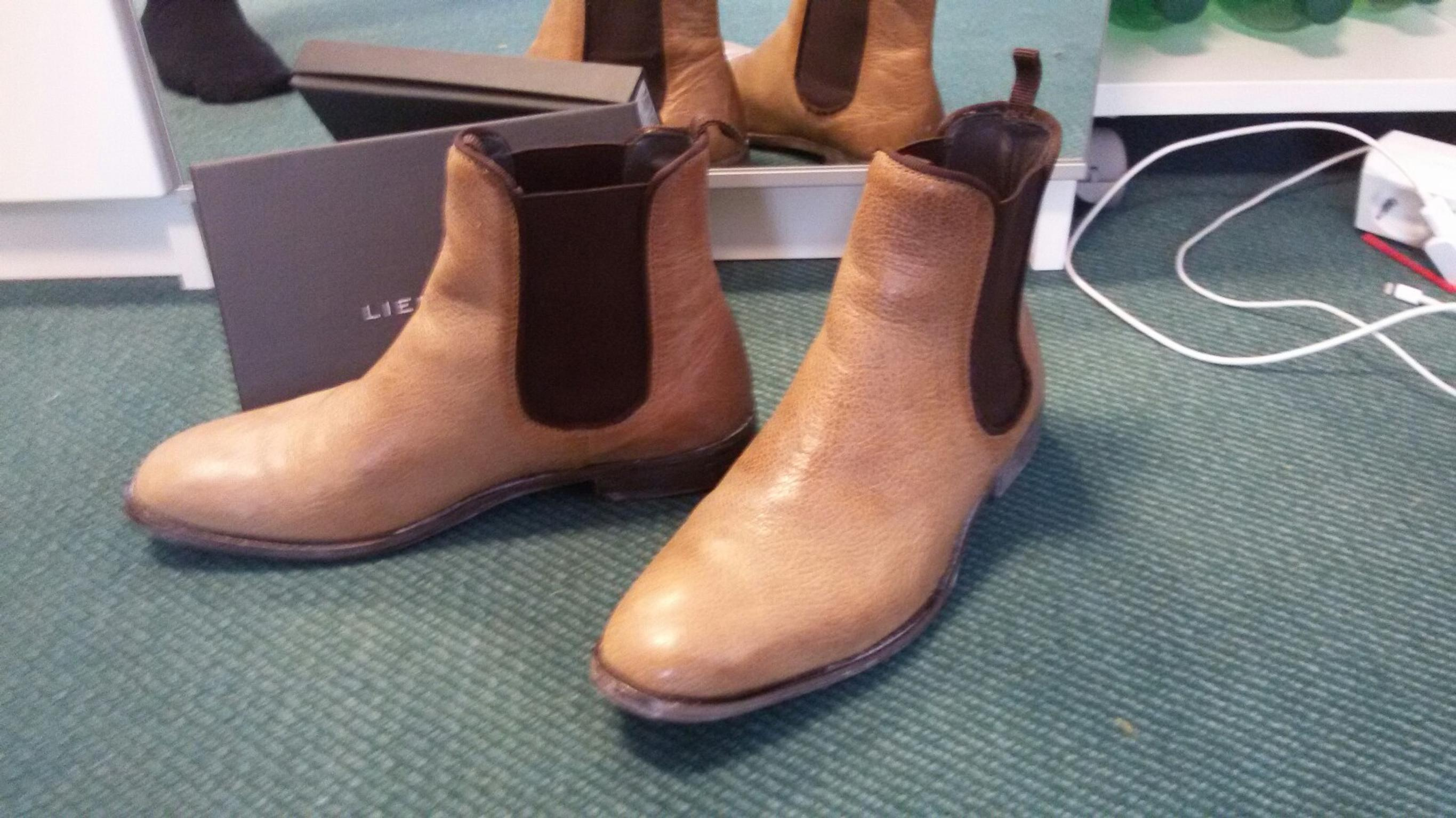 timeless design 3775c 3ace2 Liebeskind Chelsea Boots Gr. 39