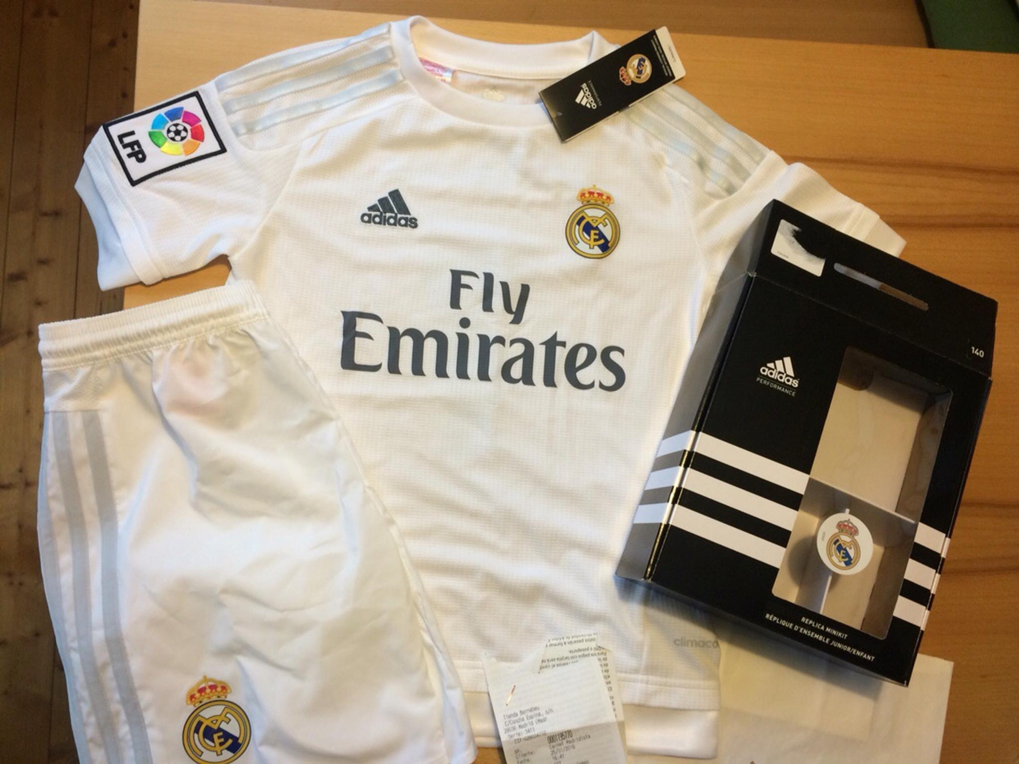 Trikot Adidas Real Madrid 2015 2016 Home Ronaldo [Junior 164]