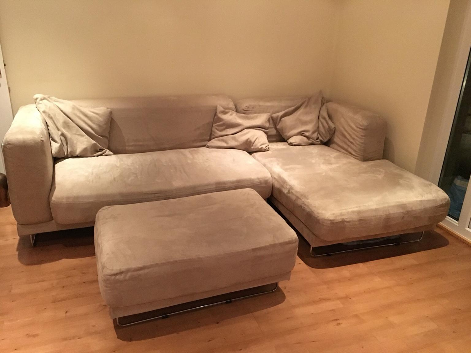 Fantastic Ikea Tylosand Corner Sofa Footstool Gmtry Best Dining Table And Chair Ideas Images Gmtryco