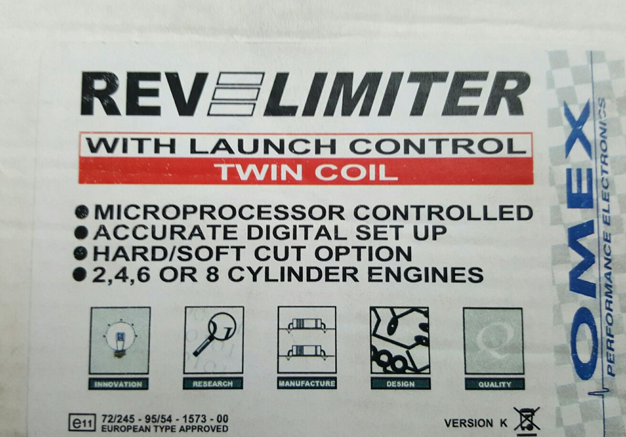 Omex Rev Limiter With Launch Control In