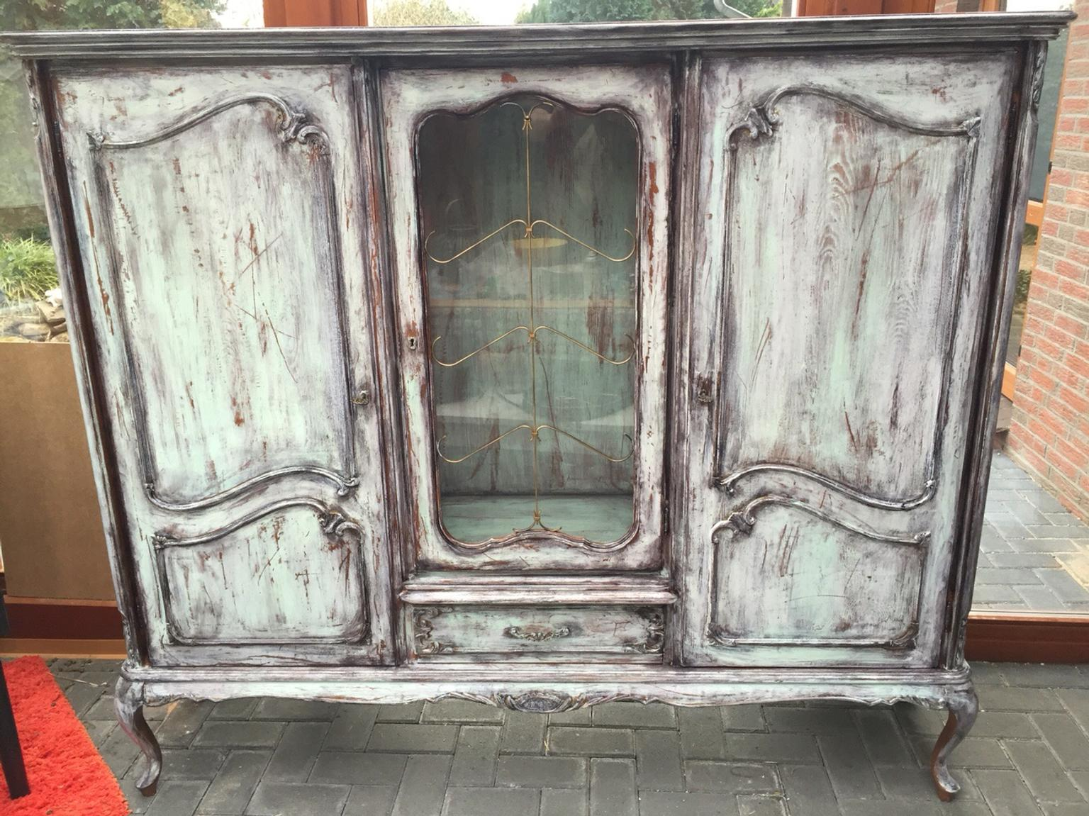 Chippendale Schrank Shabby Chic