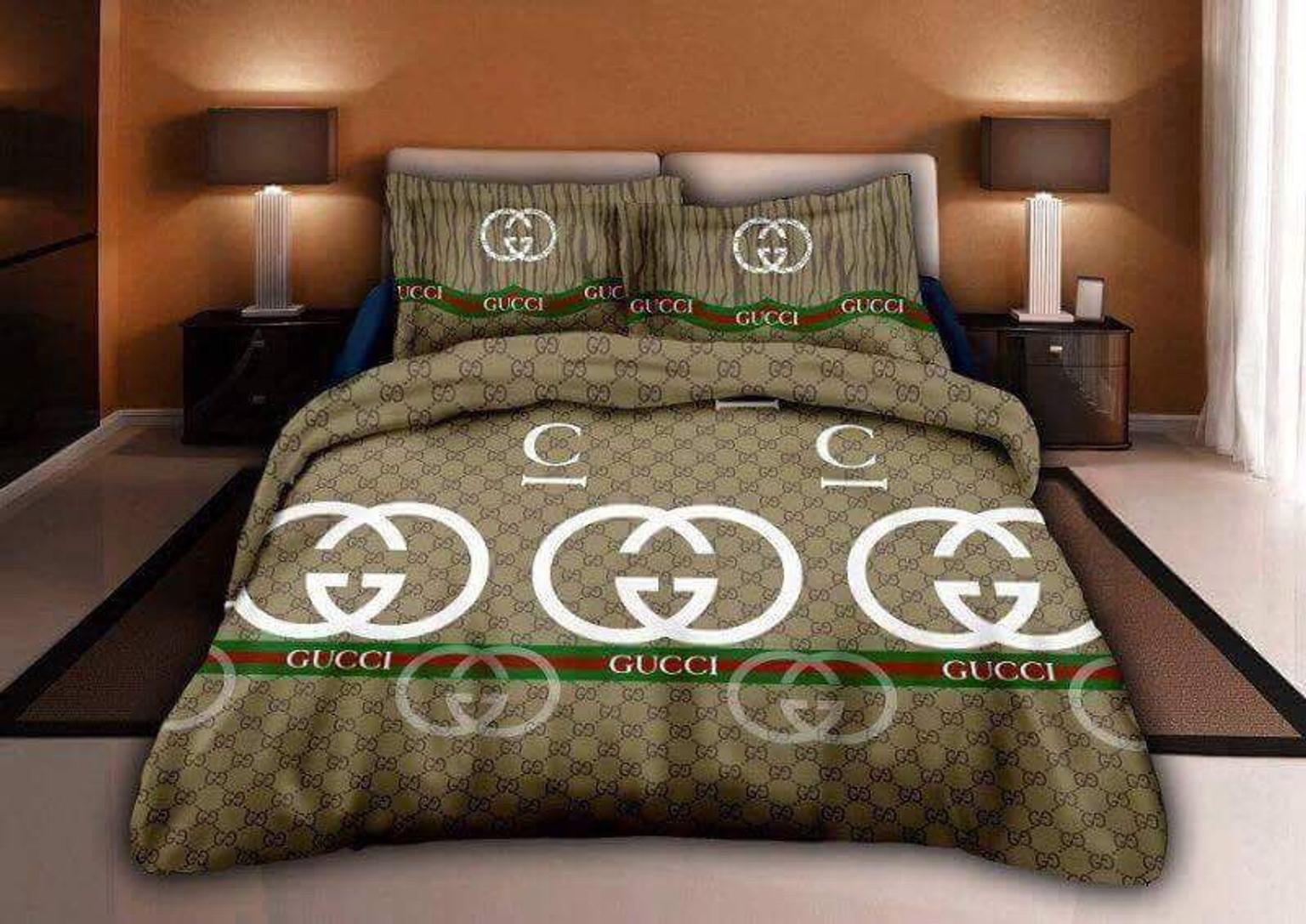 Designer Bedding Gucci Chanel Louis Vuitton In Langley For 45 00 For Sale Shpock