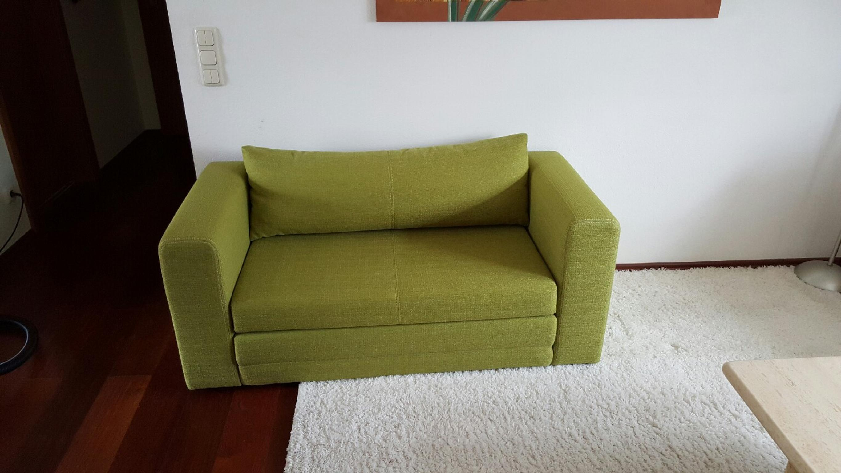 Ikea Askeby Schlafcouch In Grun