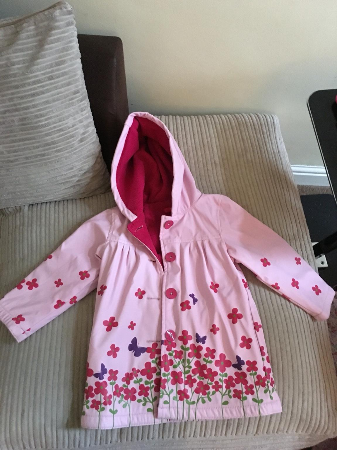 good selling entire collection special buy Girls raincoat 4-5yr strawberry faire TK Maxx