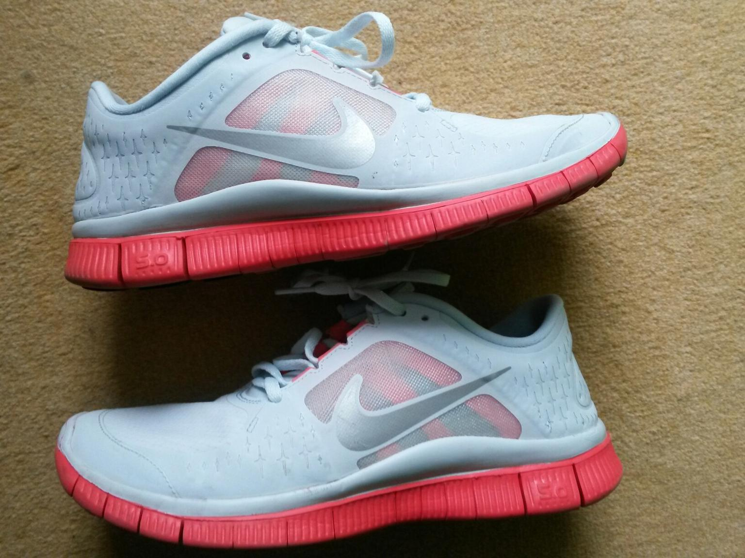 Nike free 5.0 Run 3 H2O Repel Shield Weiß