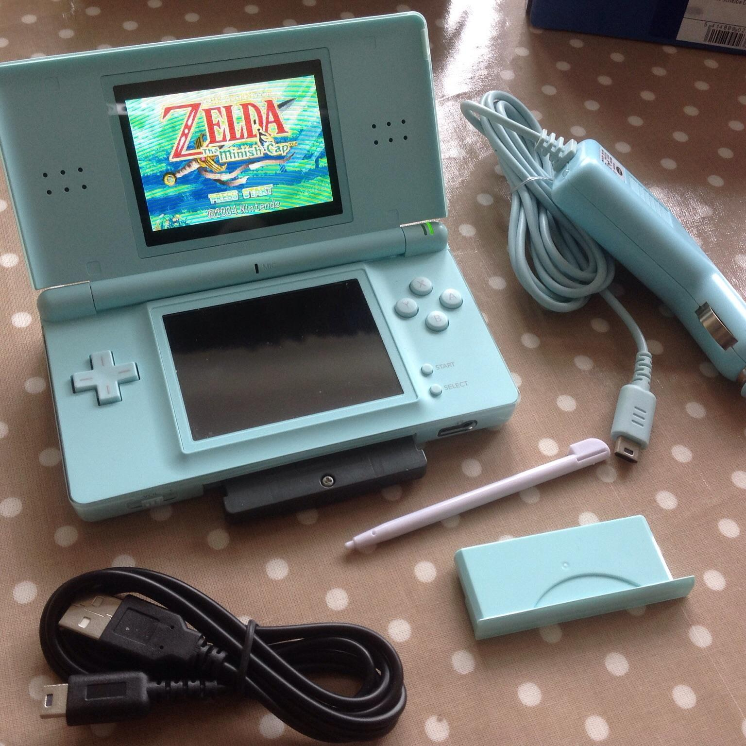 Nintendo Ds Lite Turquoiseice Blue In Nn15 Kettering For 20 Shpock