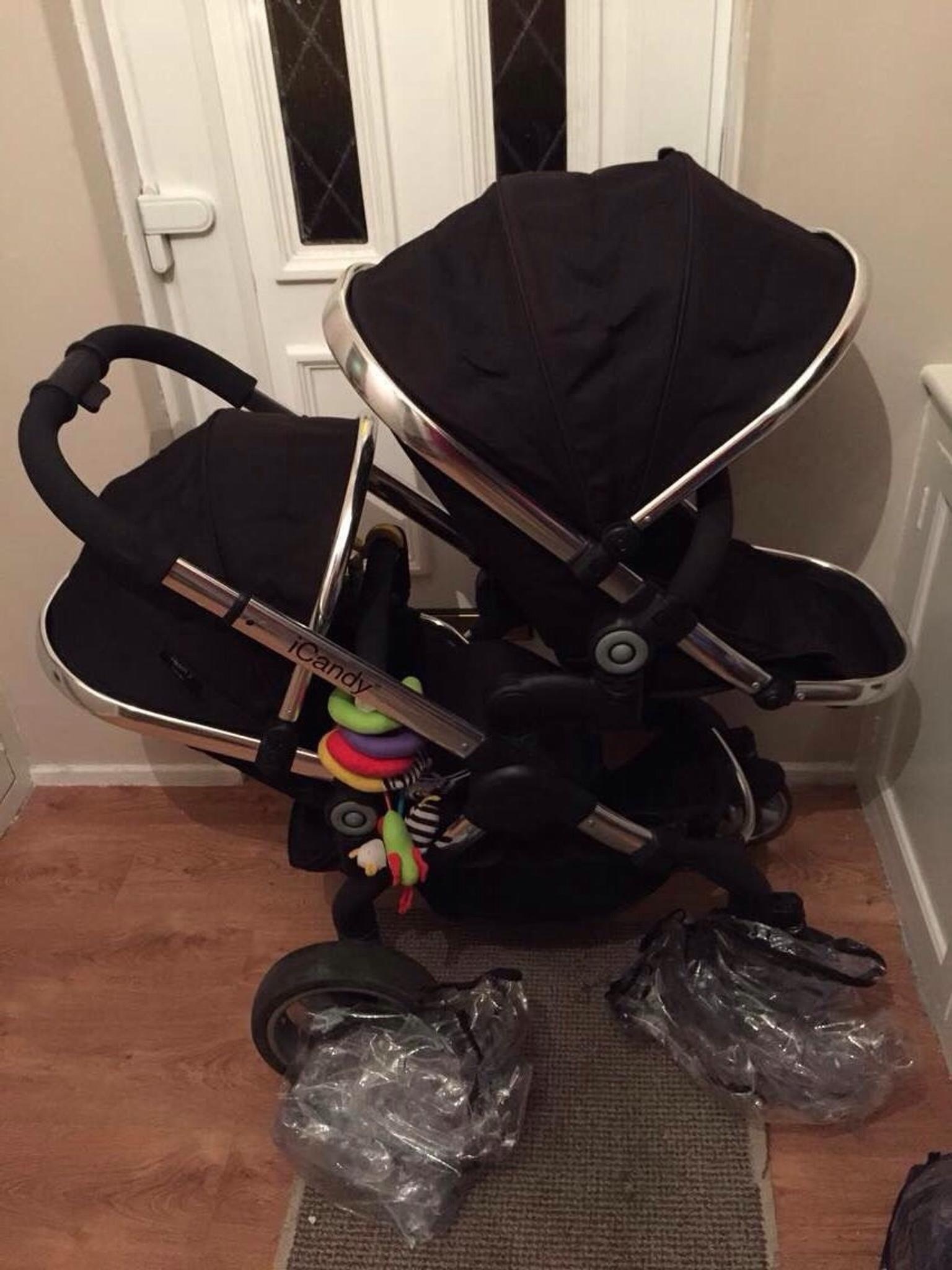 Icandy Peach 2 Double Pram Pushchair In M44 Salford Fur 320 00 Zum Verkauf Shpock De