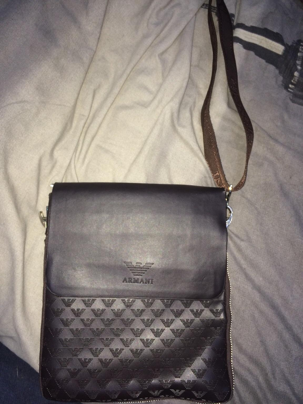 e1bf4b67009c Giorgio Armani man bag in London for £40.00 for sale - Shpock