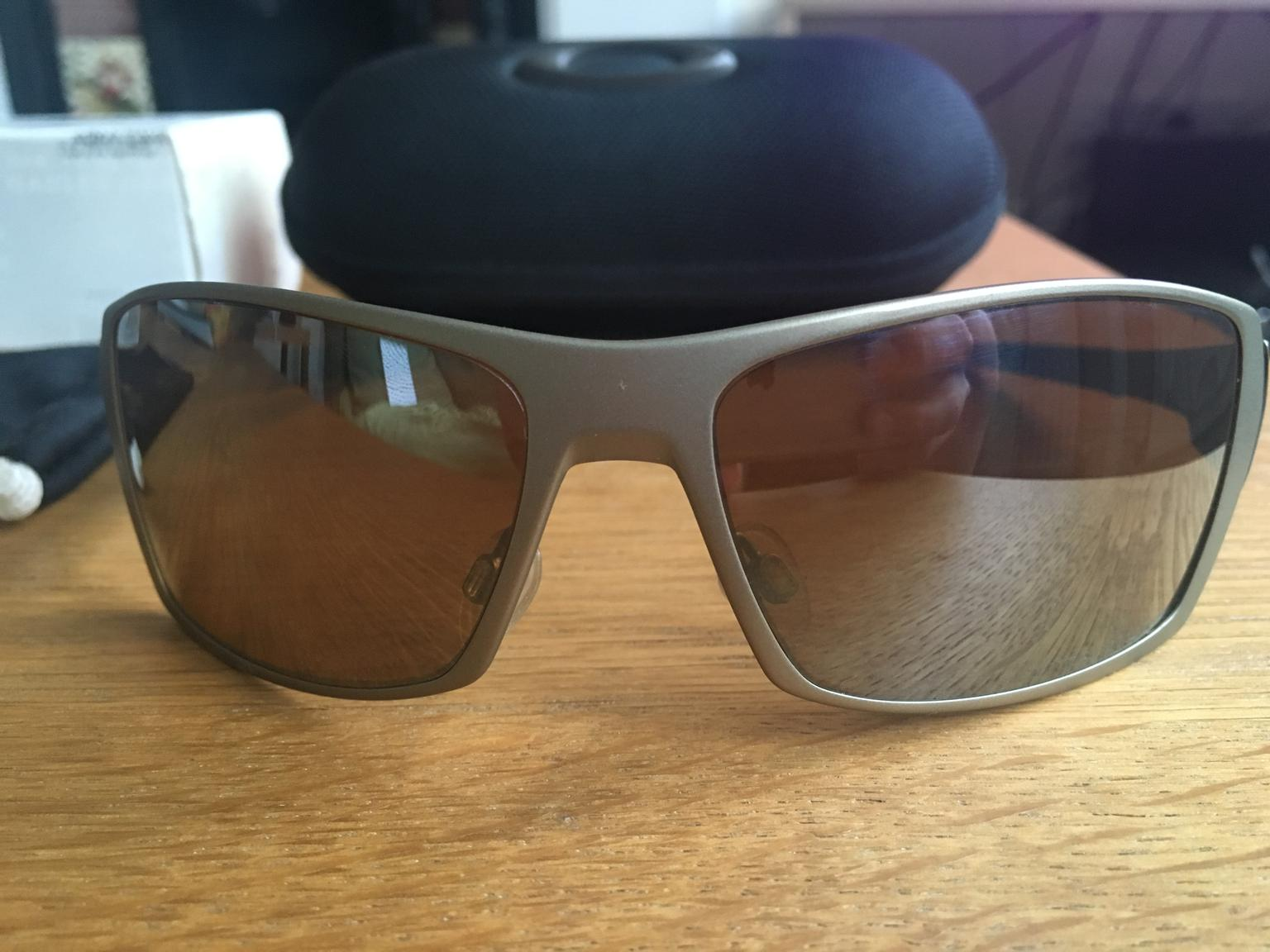 2deaf8ac09a Oakley Spike Titanium Iridium Sunglasses in SW15 London for £80.00 for sale  - Shpock