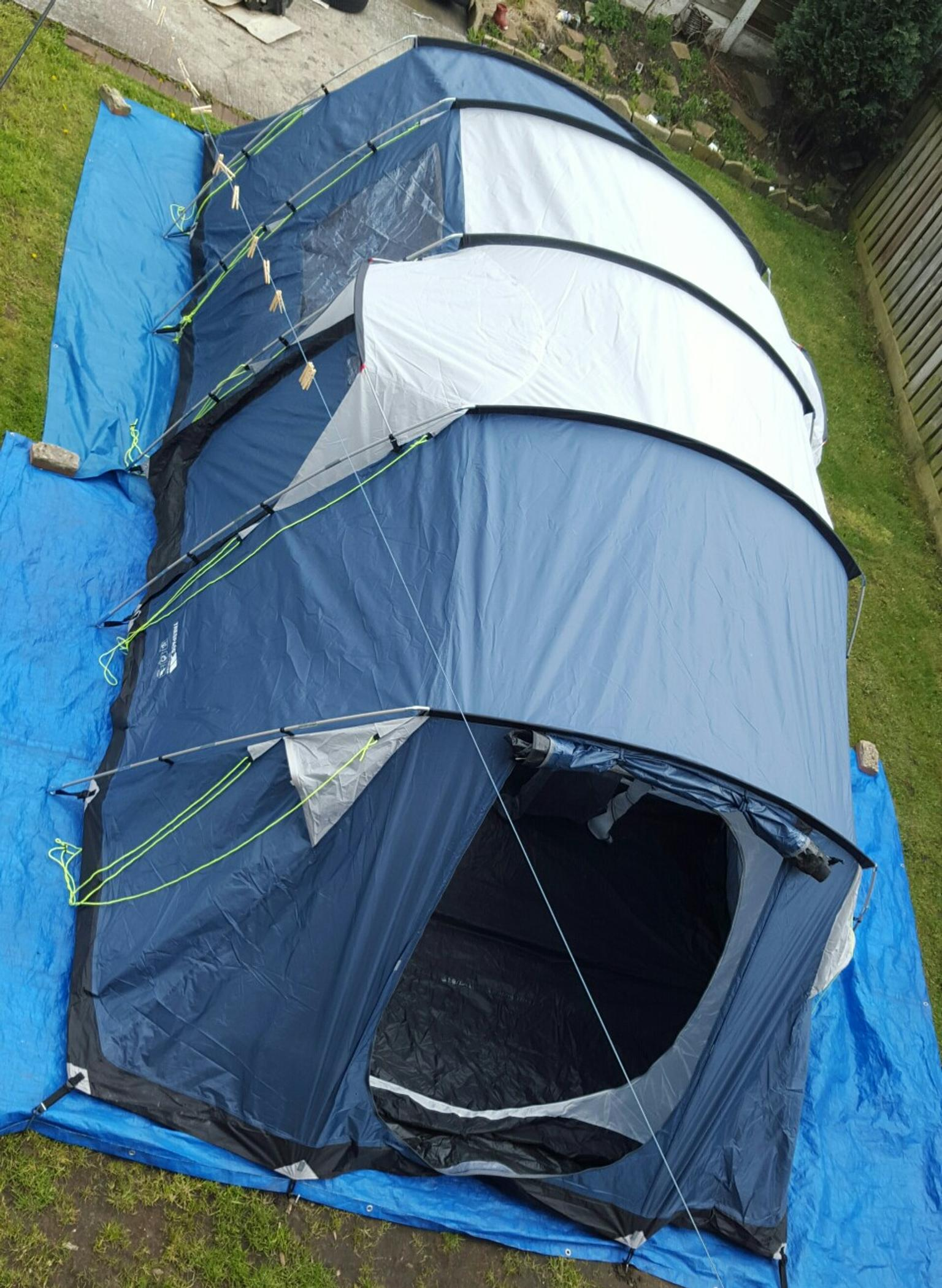 trespass go further 8 man tent new in M33 Sale for £180.00 for sale - Shpock & trespass go further 8 man tent new in M33 Sale for £180.00 for sale ...