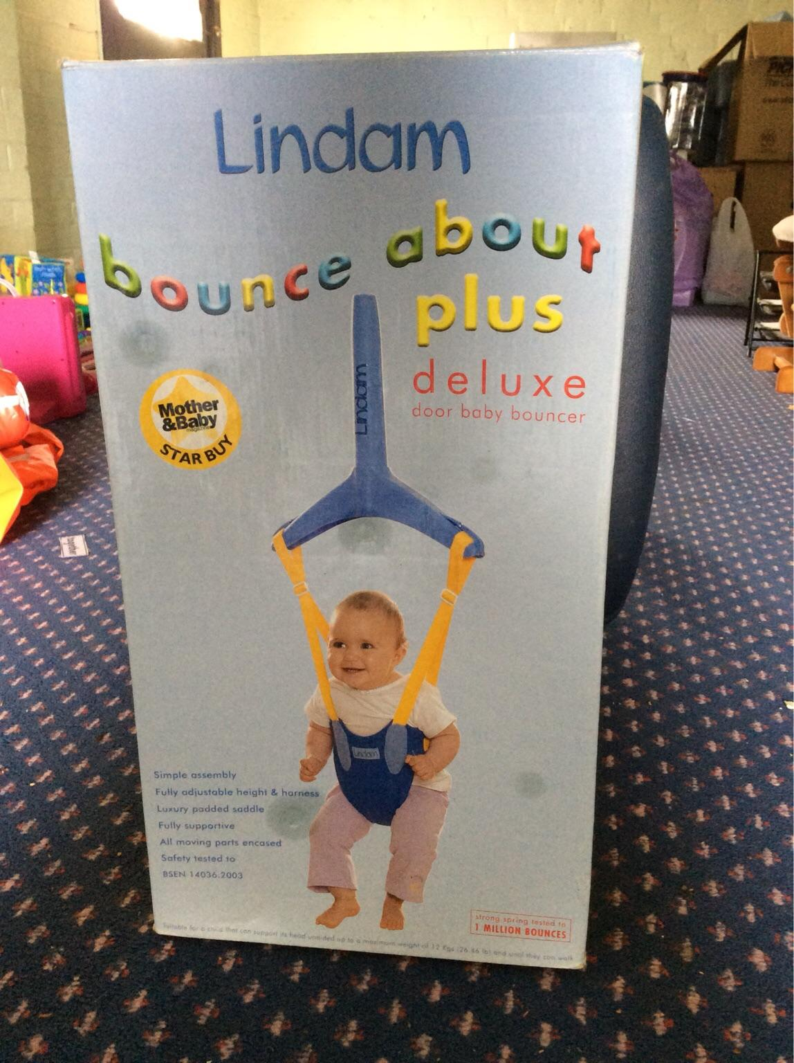 34f53e29d Lindam bounce about plus deluxe baby bouncer in Kirby Muxloe for £10 ...