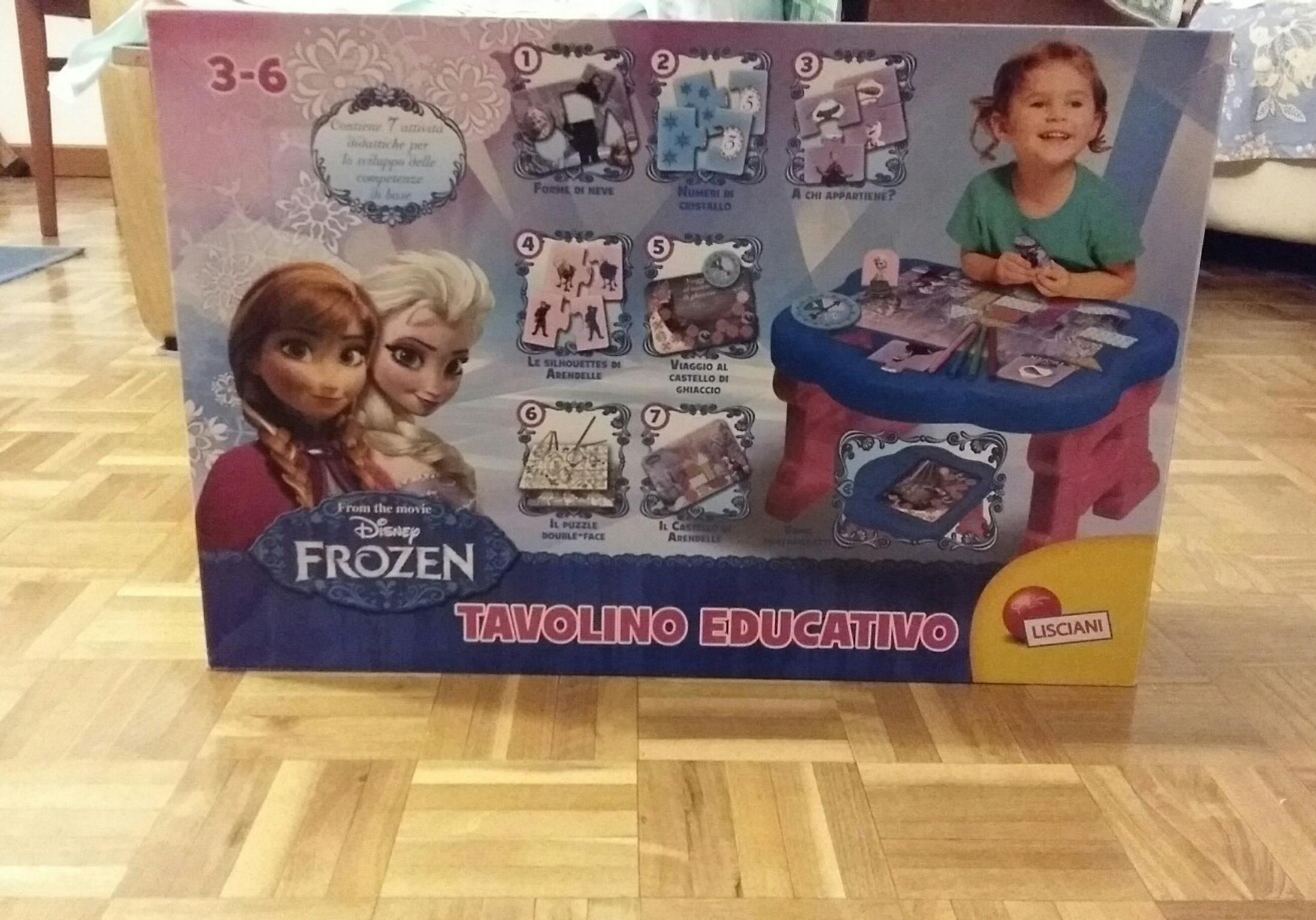 Tavolino Educativo Frozen.Tavolino Educativo Frozen Lisciani