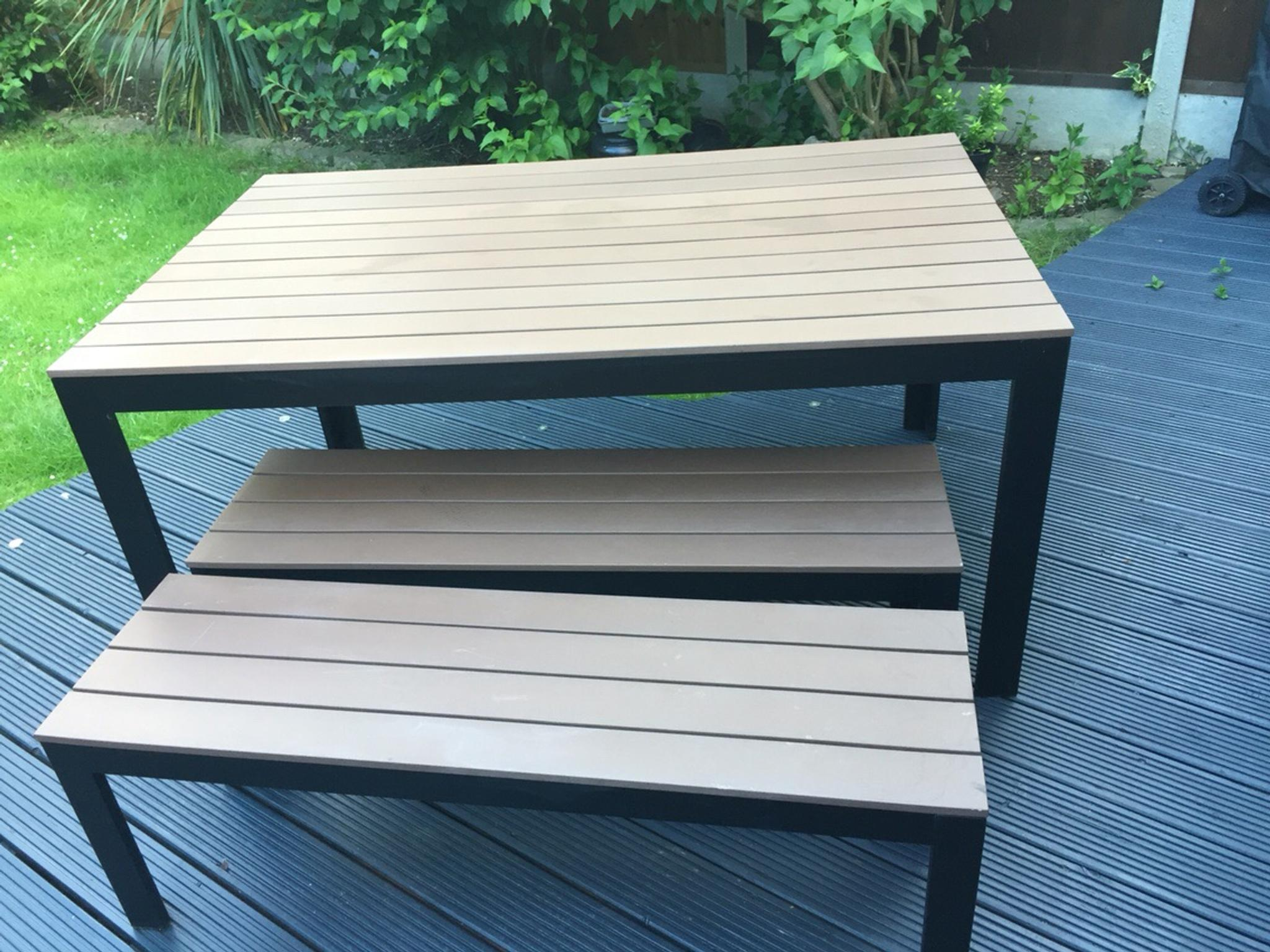 Ikea Falster Outdoor Table Benches