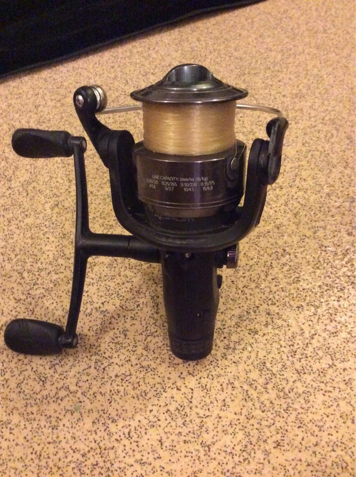 Grauvell 12ft fishing rod & reel