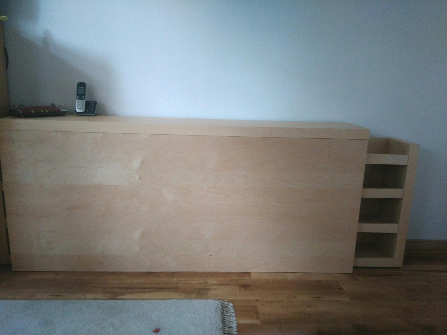 Bett Kopfteil Regal Fur Ikea Malm Bett In 26409 Wittmund For 40
