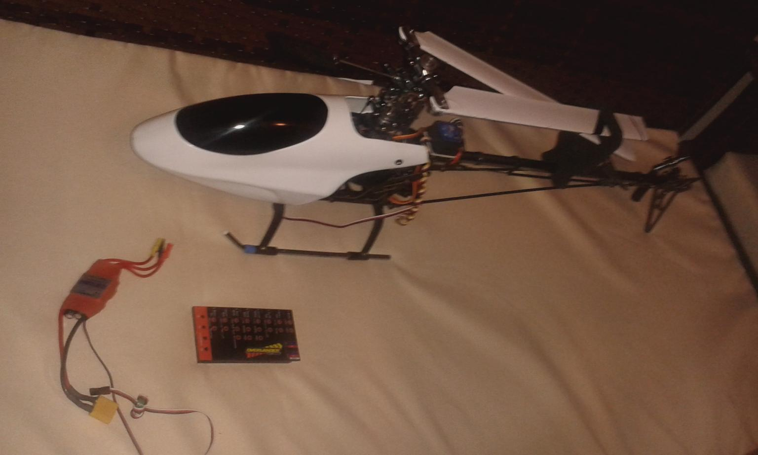 trex 450 clone rc helicopter brand new