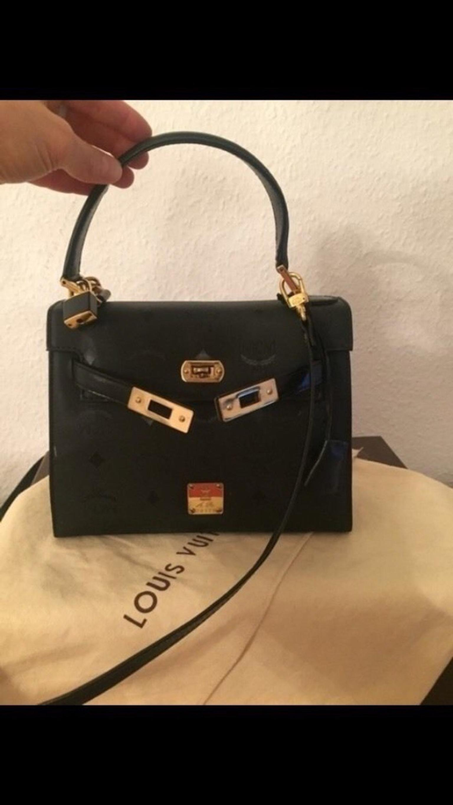 100% Original MCM Tasche in Kelly Modell