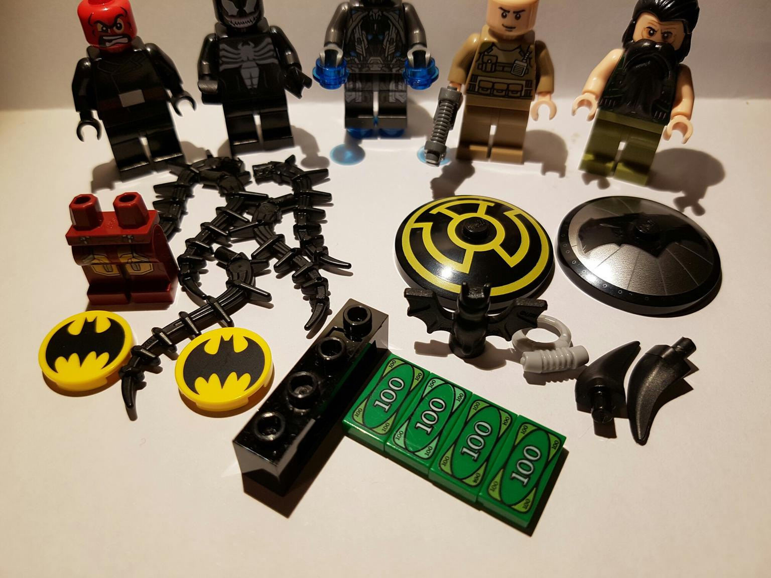 ALL NEW SOME RARE PARTS JOB LOT OF SPARES LEGO STAR WARS MINIFIGURES