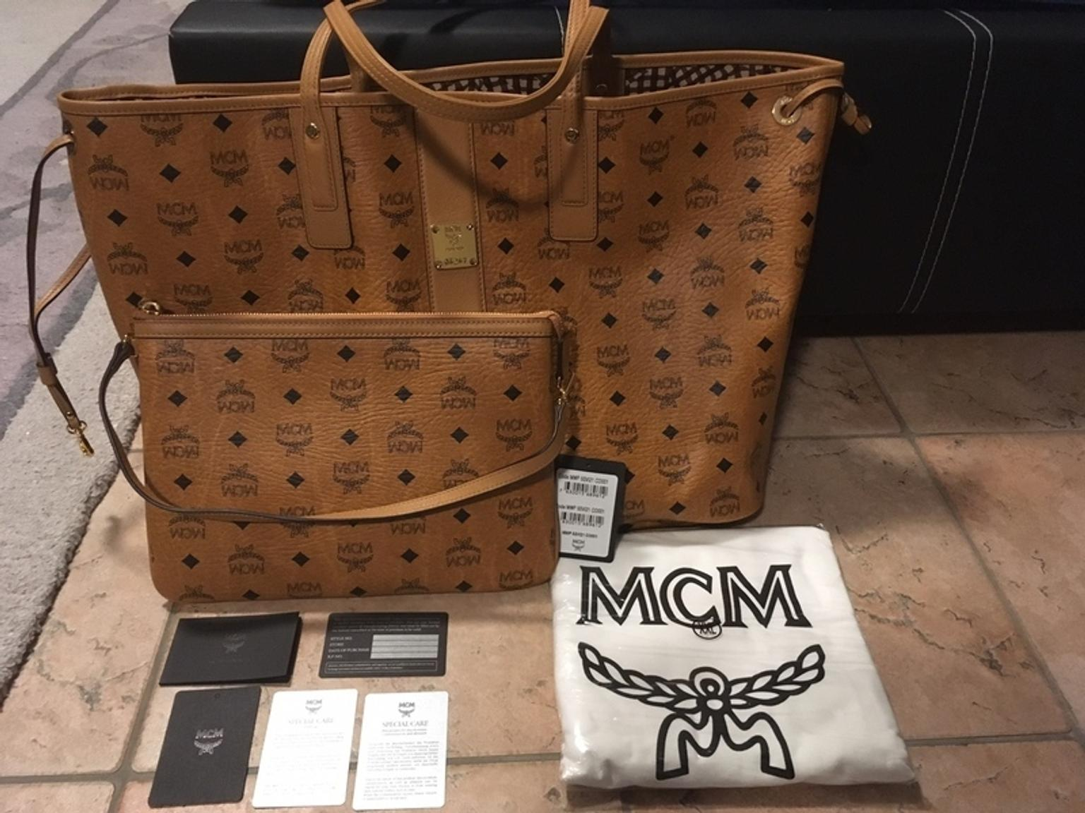 MCM Shopper Project Vintage Liz Reversible