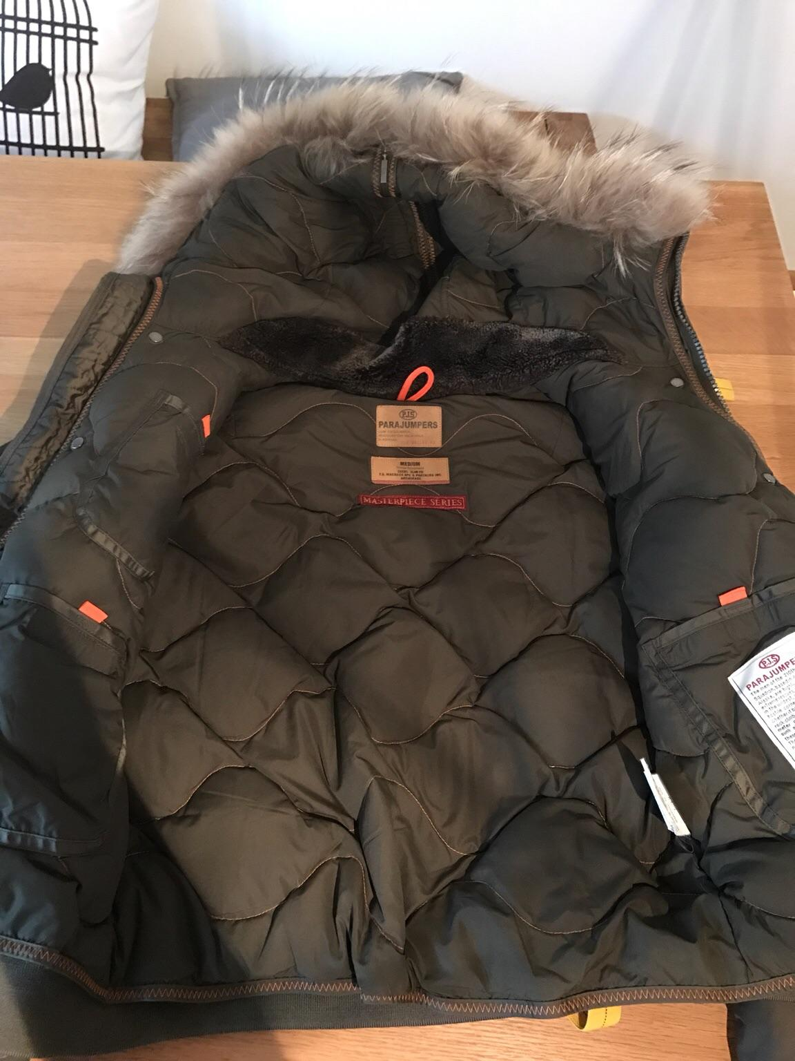 Parajumpers Winterjacke Oliv