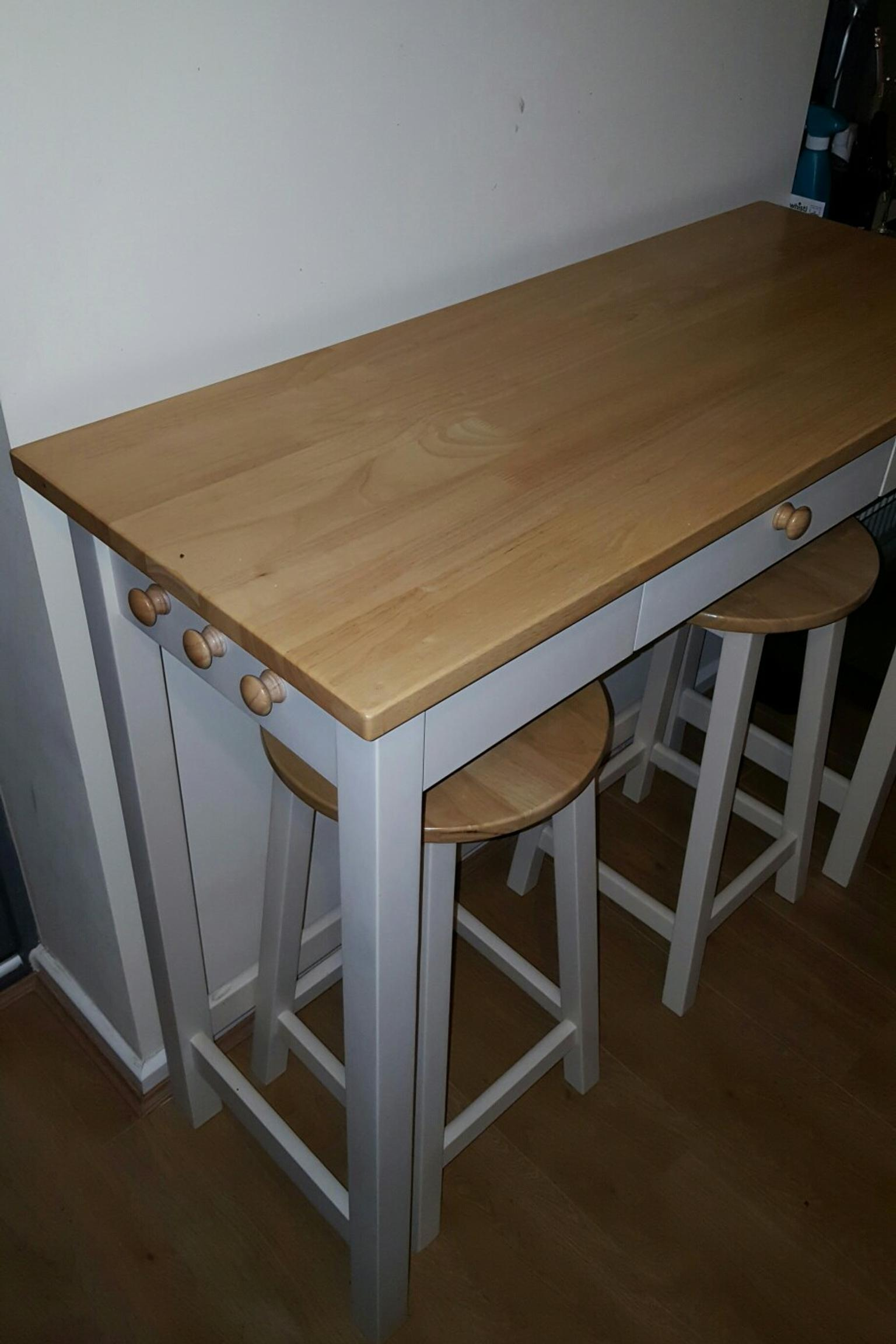 John Lewis Adler Bar Table And Stool In Ws7 Burntwood For