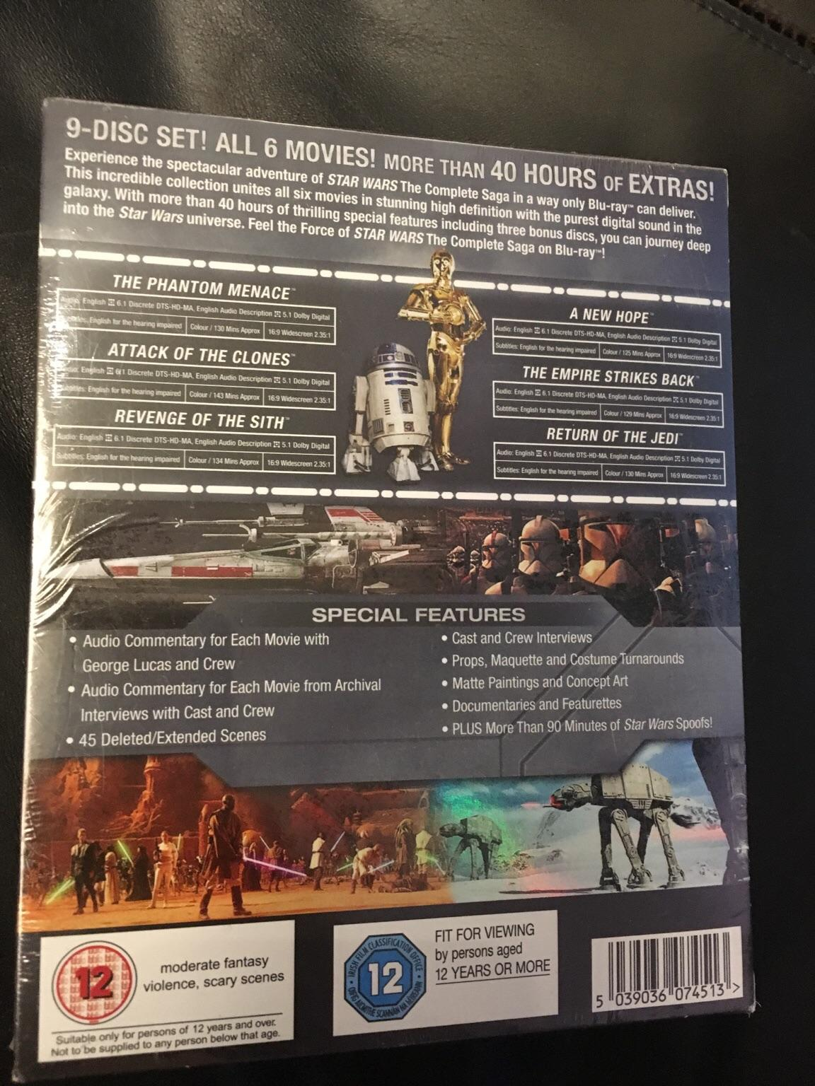 Star Wars The Complete Saga Plus 40hrs Extras In Rg2 Shinfield For 30 00 For Sale Shpock
