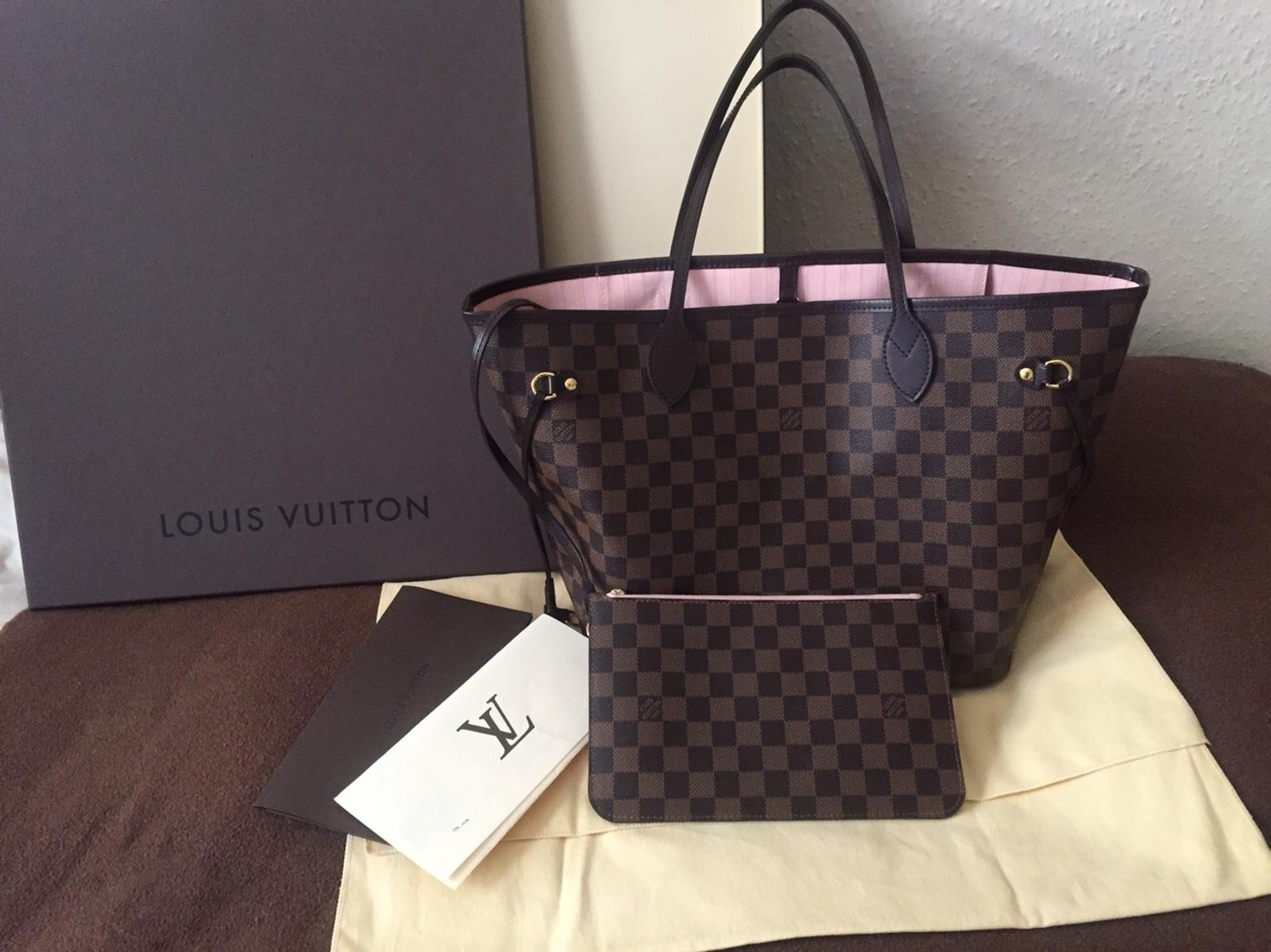 cd3bd3085287 Louis Vuitton Neverfull Damier Ebene MM in SE9 London for £795.00 for sale  - Shpock