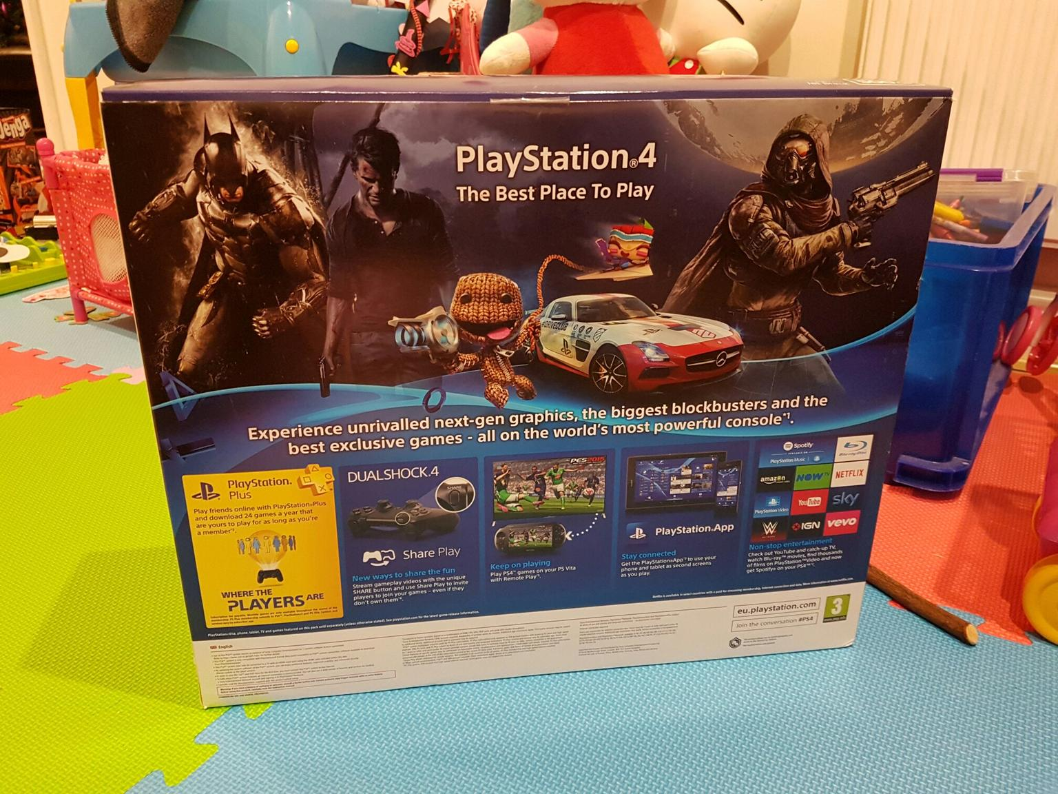 Playstation 4 PS4 500gb Console CUH-1216A