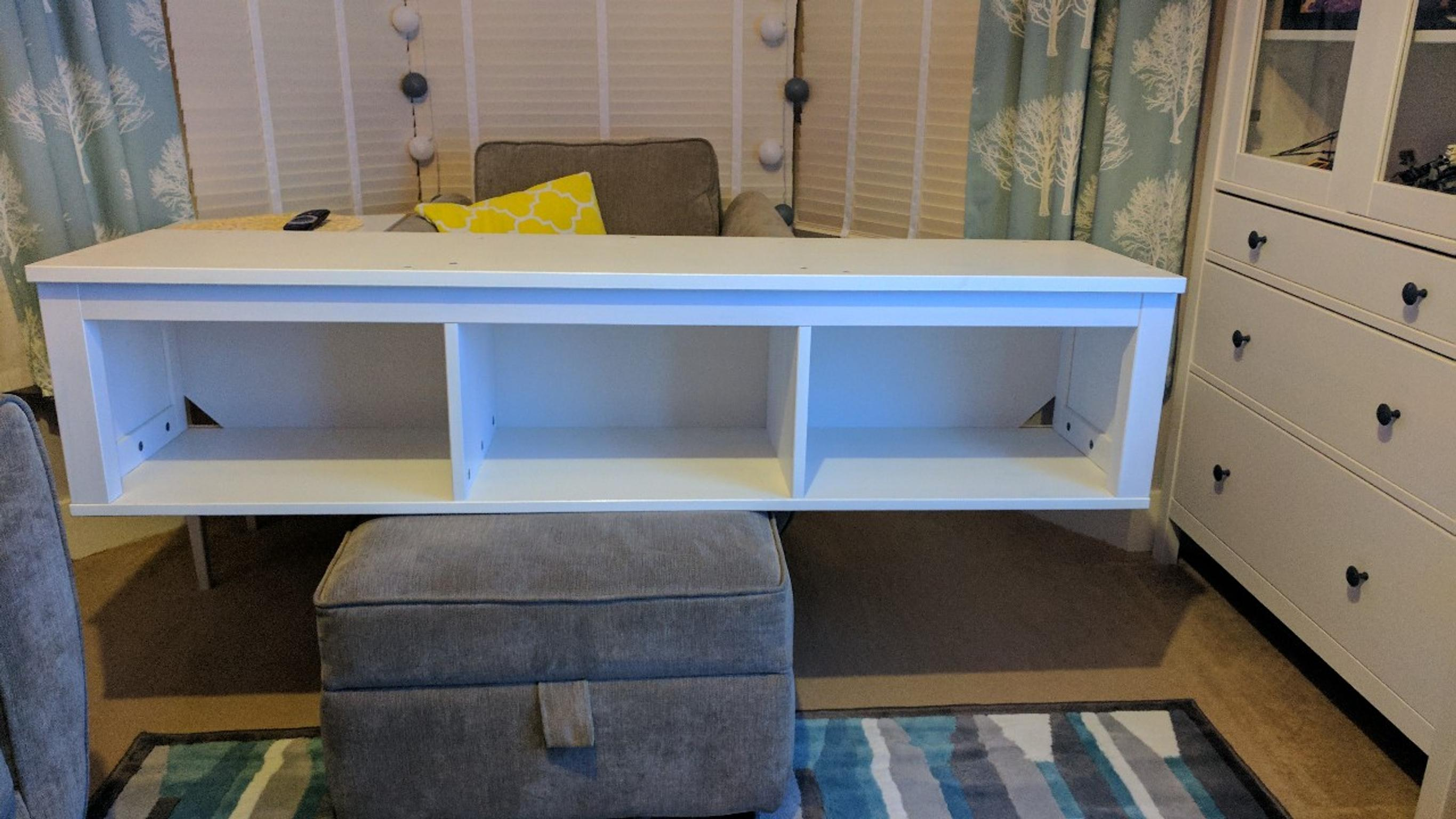 Ikea Hemnes Wall Shelf In Ss1 Sea For