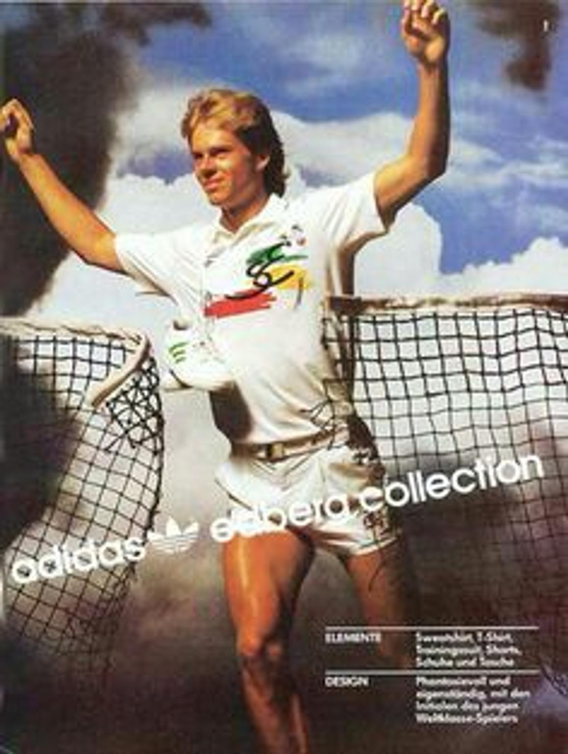 Polo Adidas Edberg collection