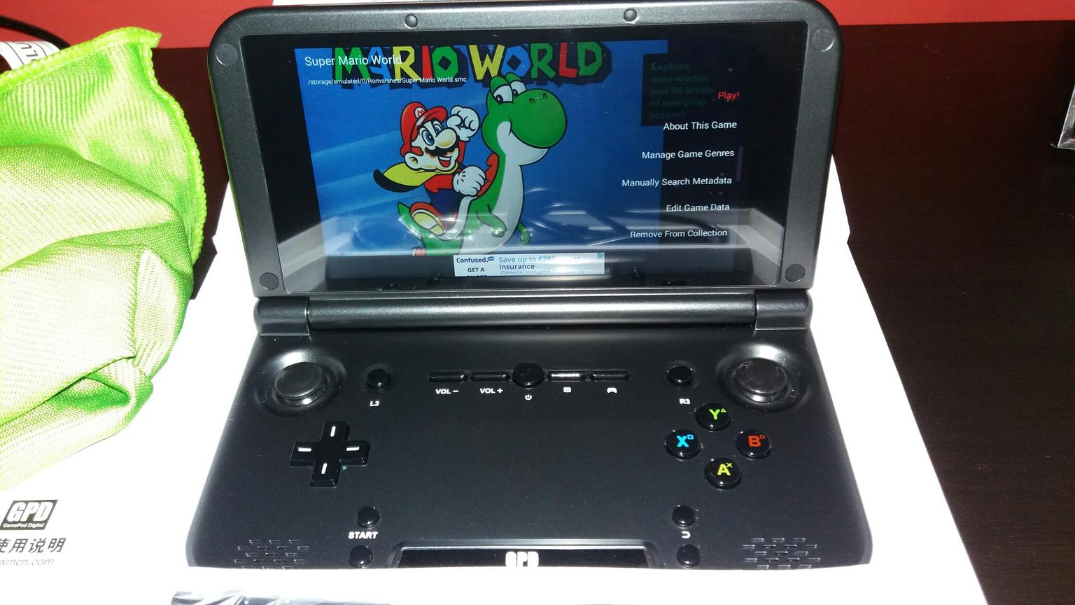 GPD Xd android retro gaming tablet