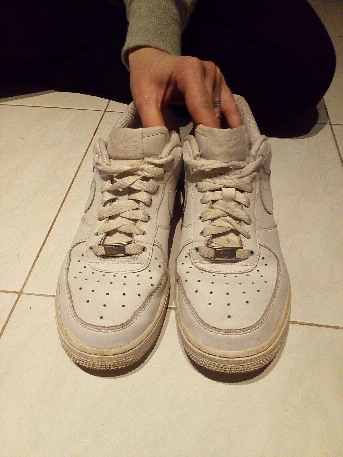 air force 1 basse donna bianche