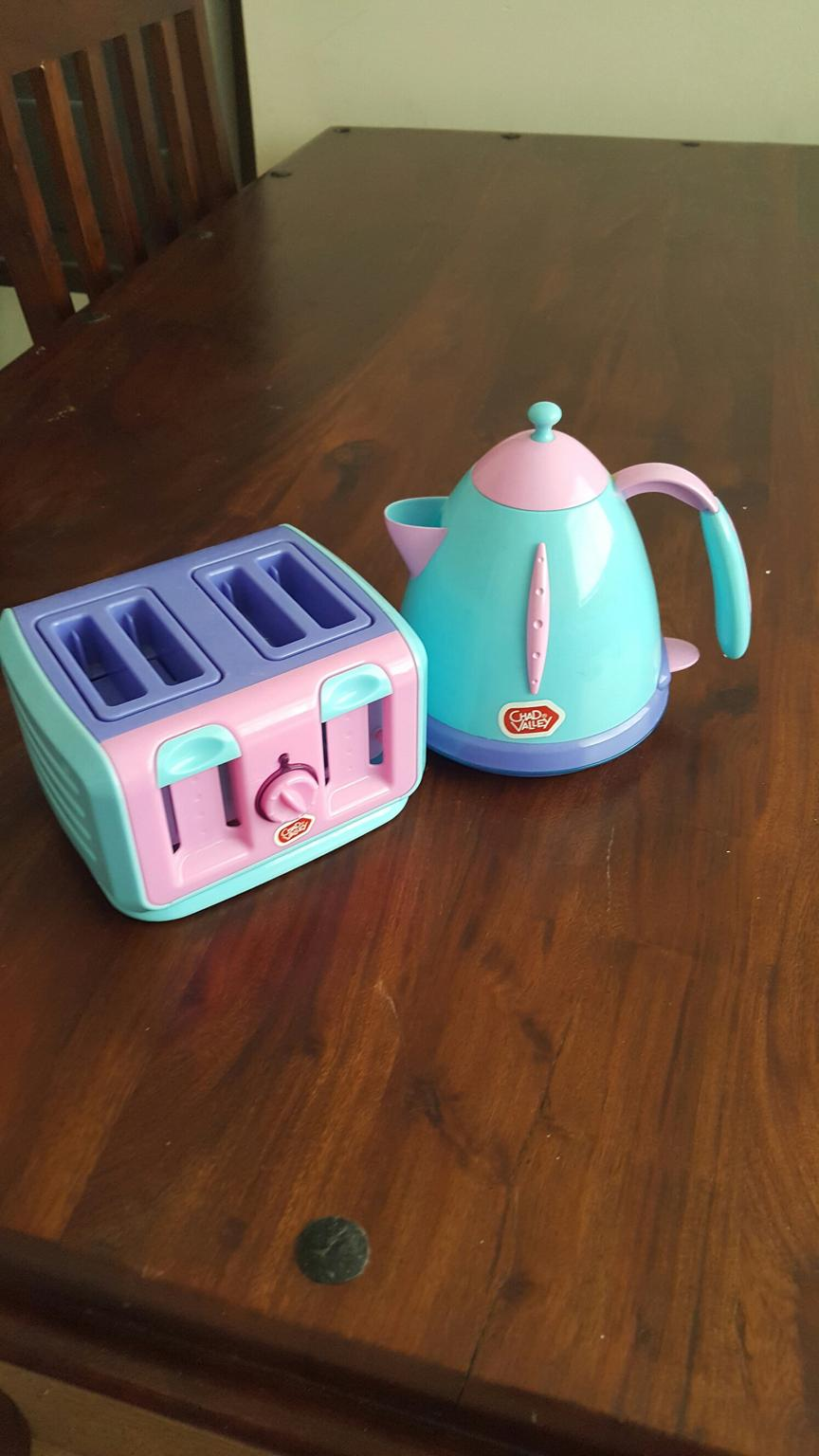 Chad Valley Kettle and Toaster Set