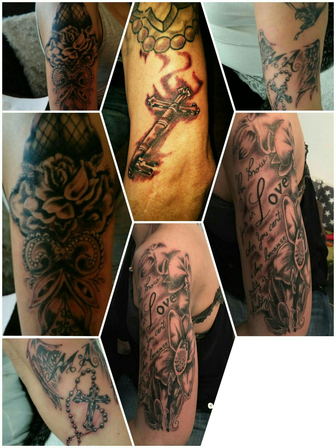 Biomechanik Tattoo Ganzer Arm tattoos