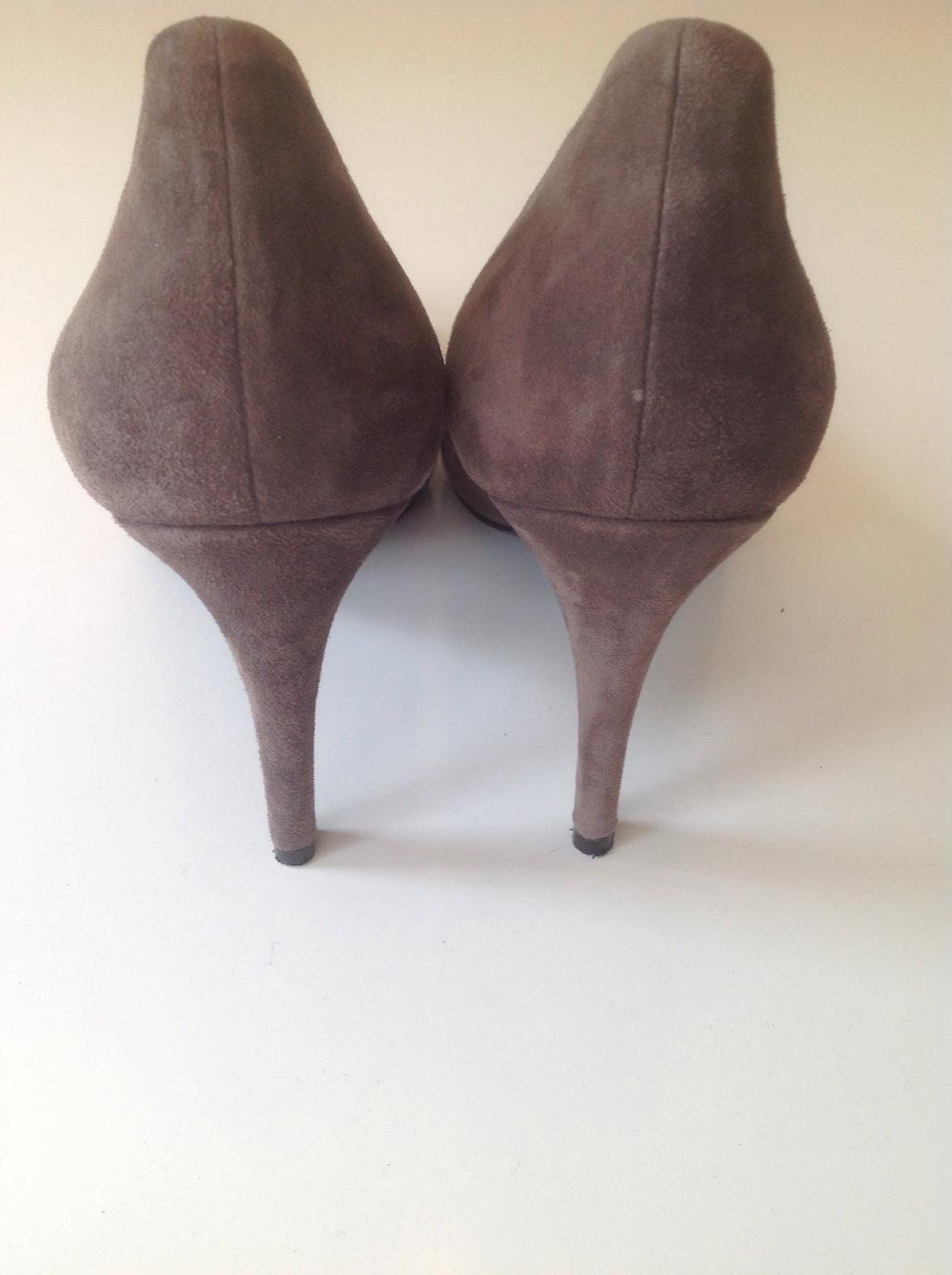 SCHUMACHER High Heels Pumps taupe Gr.39,5