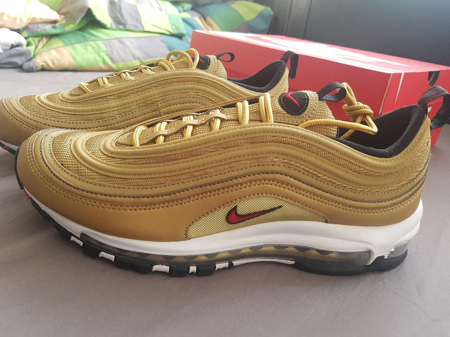 NIKE Air Max 97 Gold Gr. 44 in 80807 München for €290.00 for