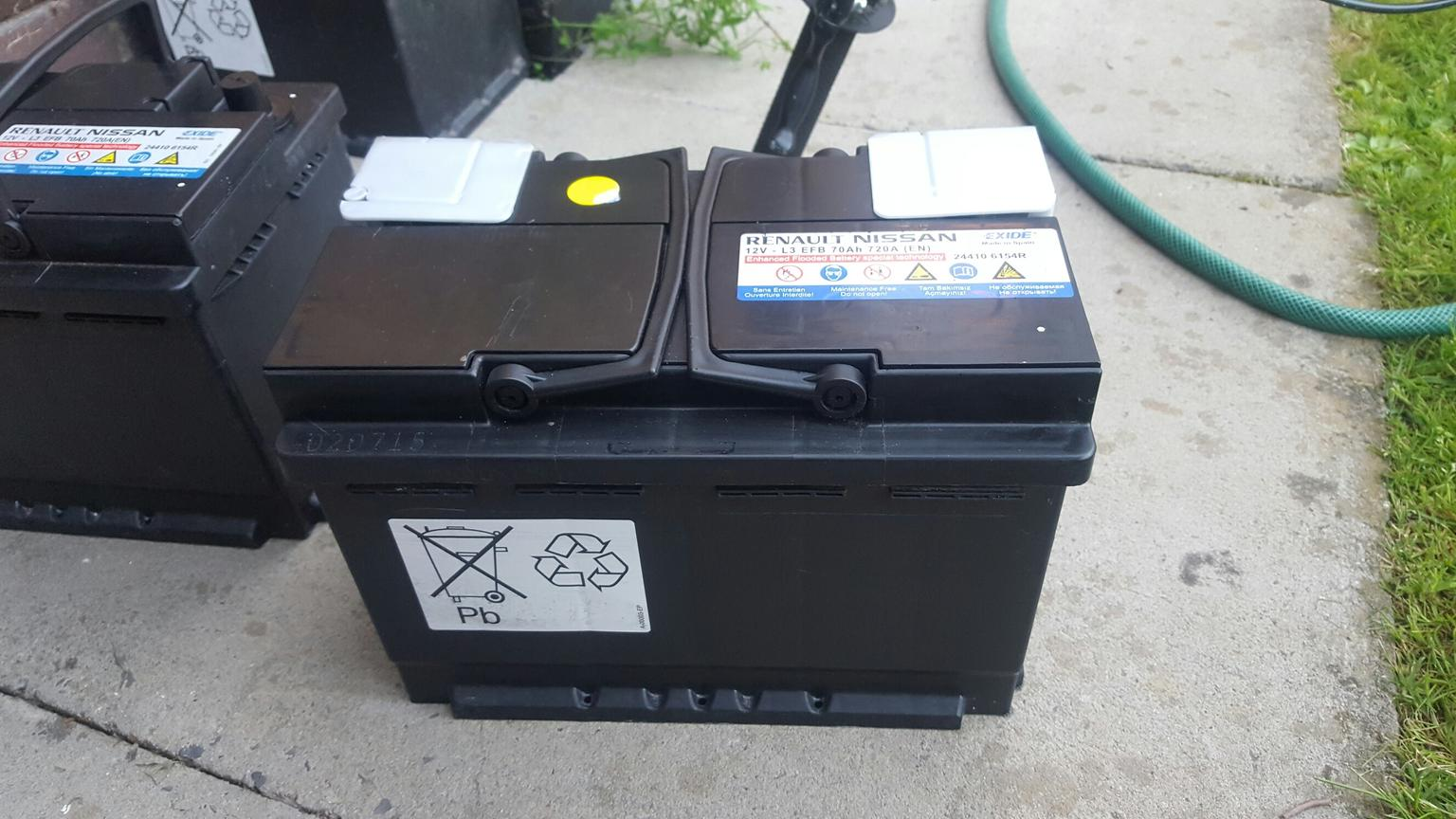 12v l3 efb 70ah 720a battery in wn4 makerfield for for sale shpock