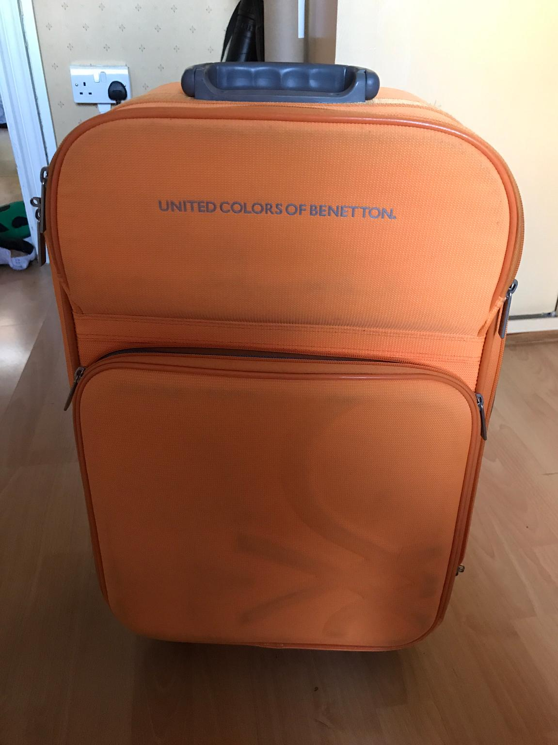 factory outlets temperament shoes new authentic United Colors of Benetton suitcase in W2 London for £5.00 for sale ...