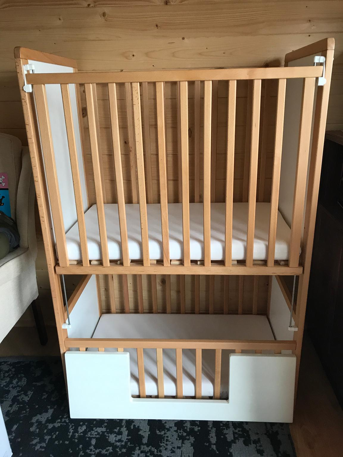 Original Bunk Cot Company Shanticot Twin Cots In Da7