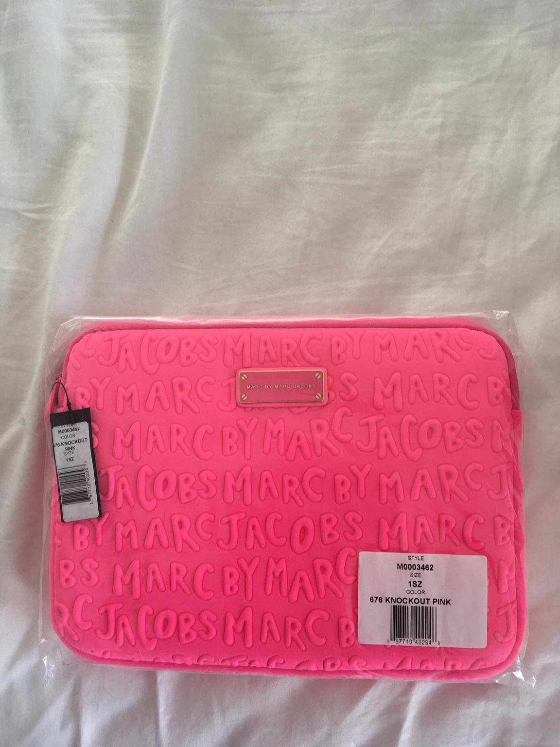 marc by marc jacobs datorfodral rosa